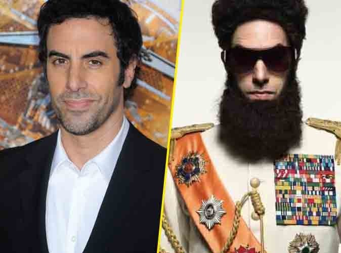 """Sacha Baron Cohen (Borat) : il a gagné contre les Oscars et s'affichera en """"Dictateur"""" sur le tapis rouge !"""