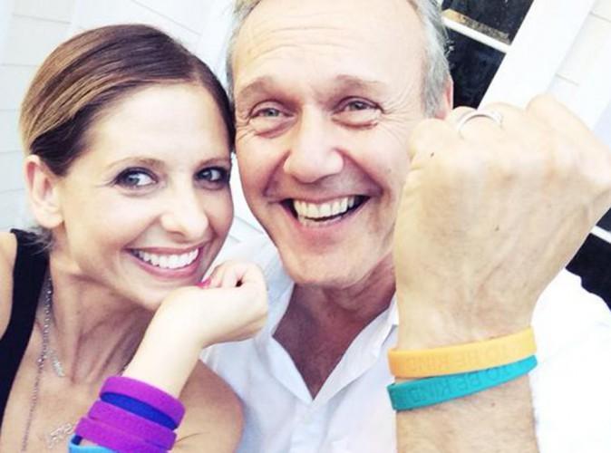 Sarah Michelle Gellar : joyeuse réunion avec Anthony Stewart Head !