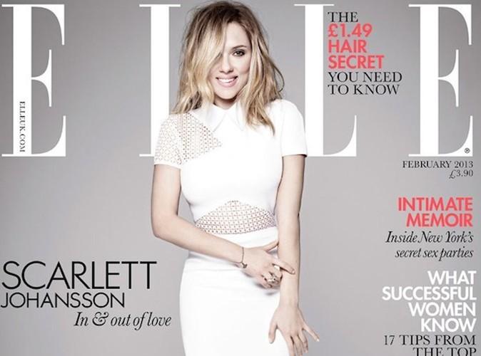 Scarlett Johansson : moderne et longiligne pour Elle UK, ça change !