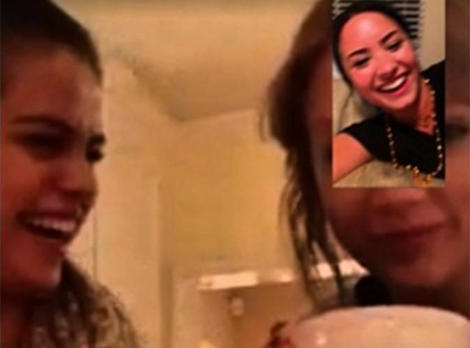 Selena Gomez et Taylor Swift : le samedi soir, elles s'éclatent en visio avec Demi Lovato !