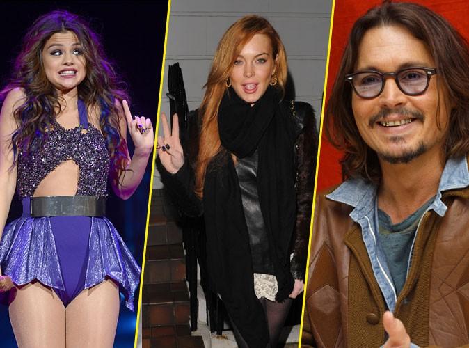 Selena Gomez, Lindsay Lohan, Johnny Depp : tous nommés aux Razzie Awards 2014 comme pires acteurs de l'année !