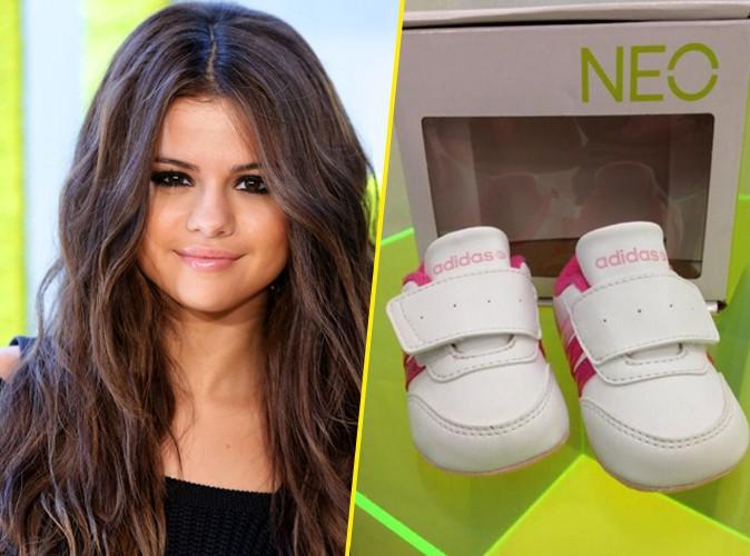 Selena Gomez : sa petite soeur Gracie a déjà des baskets Adidas !