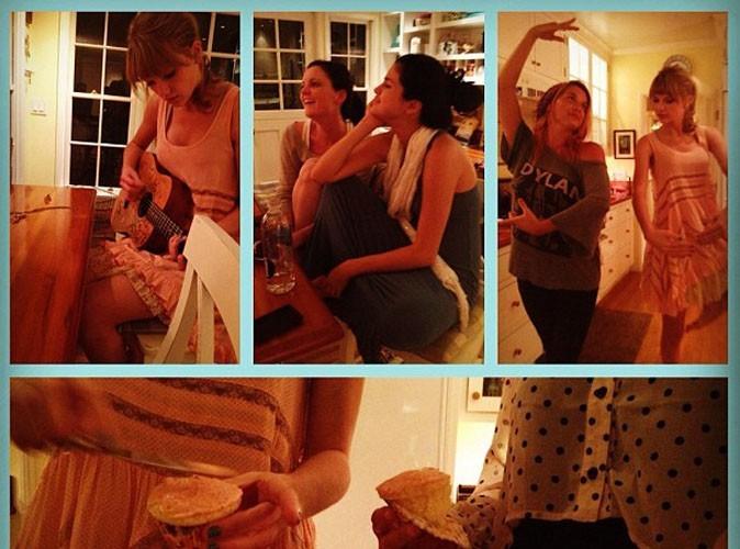 Selena Gomez : soirée cupcakes et musique avec ses meilleures amies !