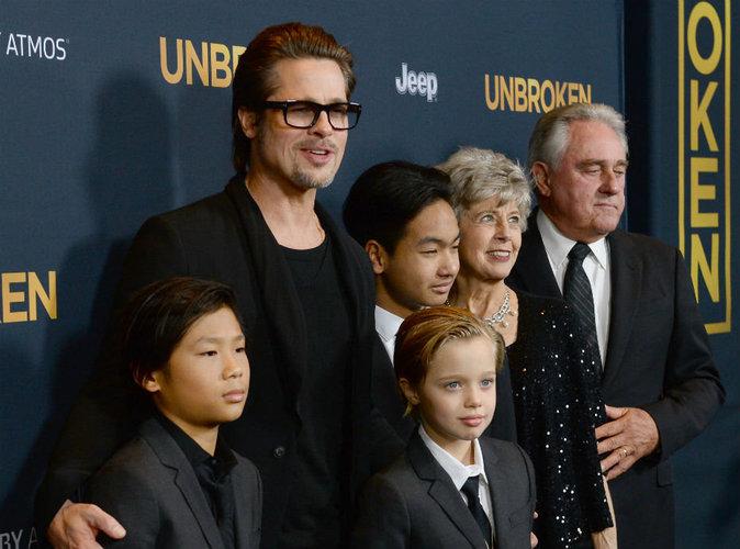 """Séparé de ses enfants par Angelina Jolie, Brad Pitt est """"déchiré"""""""