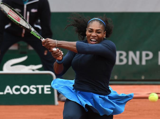 Serena Williams n'a pas tout perdu à Roland Garros...