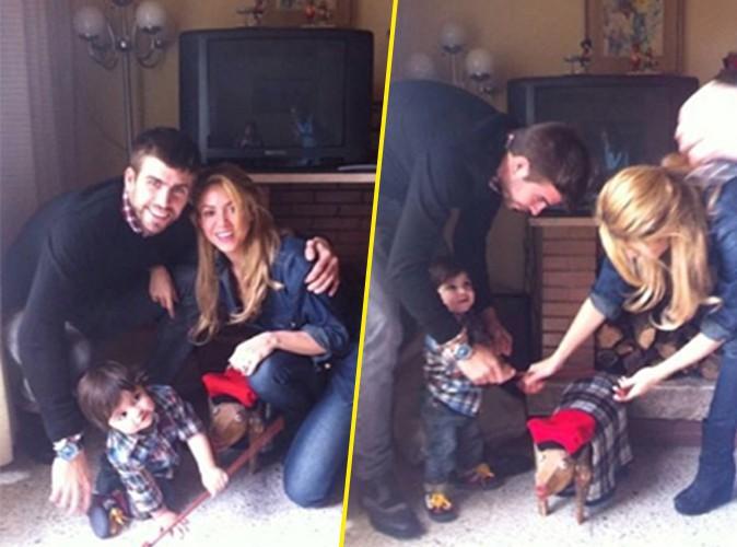 Shakira : elle a retrouvé son Gerard Piqué pour célébrer le premier Noël de leur fiston Milan !