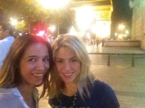 Shakira : incognito à Paris !