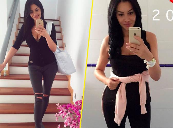 Sidonie Biémont: Déjà 8 kilos perdus deux semaines après son accouchement!