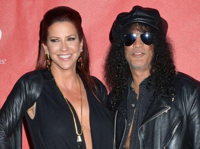 Slash : le guitariste des Guns N'Roses divorce !