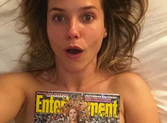 Sophia Bush : coquine pour un selfie topless dans son lit !