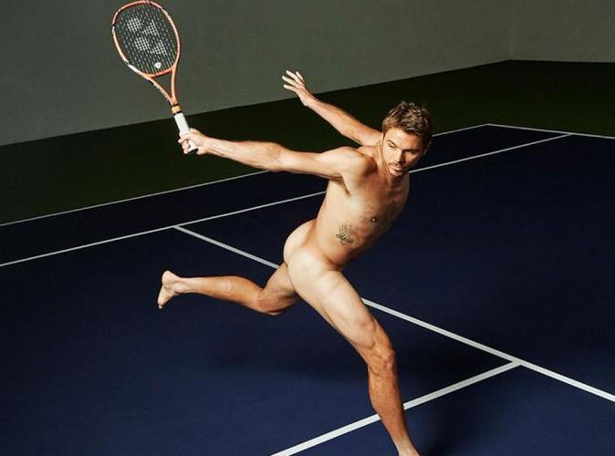 Stan Wawrinka : Le tennisman suisse joue les mannequins et pose... nu !