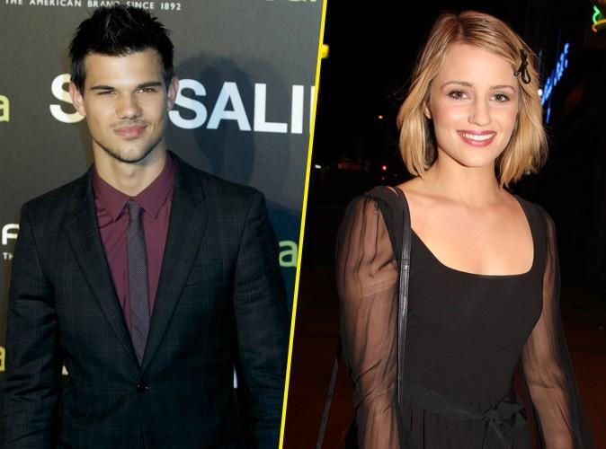 Taylor Lautner : il s'offre un dîner avec la belle Dianna Agron de la série Glee !