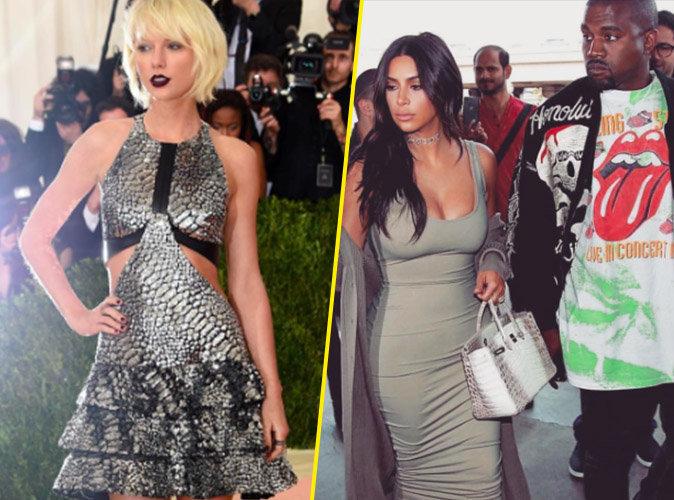 Kim Kardashian : Taylor Swift contre attaque et critique son mariage avec Kanye West !