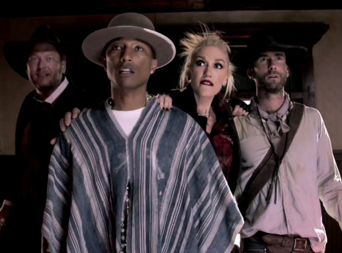 The Voice US : Gwen Stefani et Pharrell Williams en plein western pour le premier trailer !