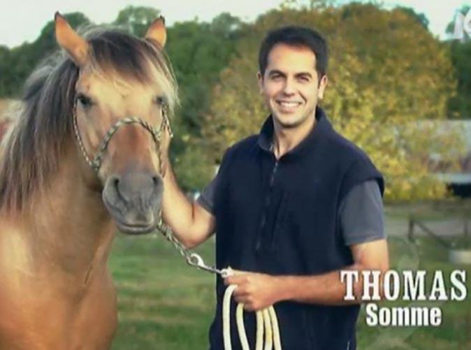 """Thomas Menant (L'amour est dans le pré 8) : accusé de """"sévices graves et actes de cruauté"""" envers un de ses chevaux !"""
