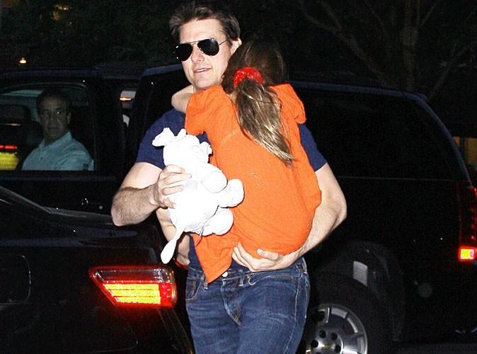 Tom Cruise : il a passé une journée de rêve avec Suri chez Mickey !