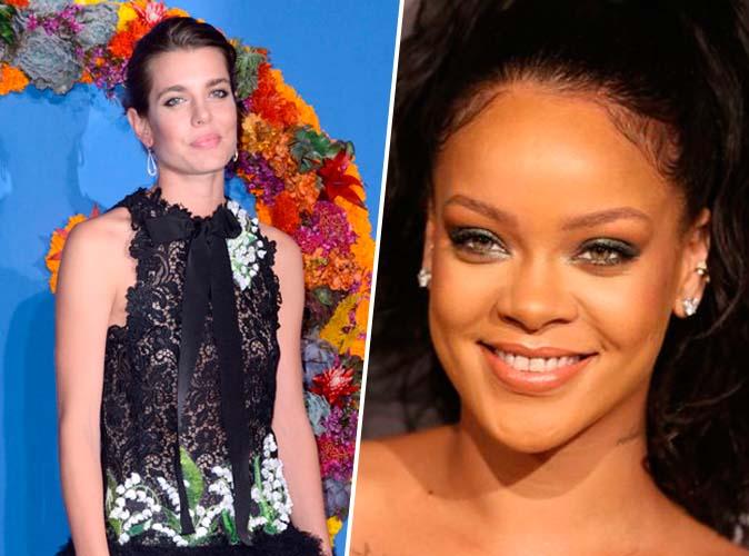 #TopNewsPublic : Charlotte Casiraghi en robe transparente, Rihanna en robe ample, toutes les deux à Paris !