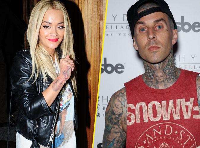 Travis Barker : le nouveau coup de coeur tatoué de Rita Ora !