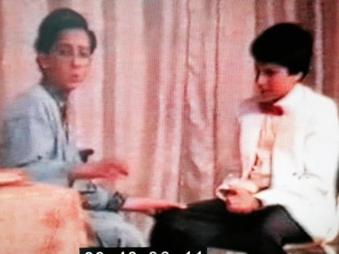 1987. La première pièce de théâtre de Gad à Casablanca
