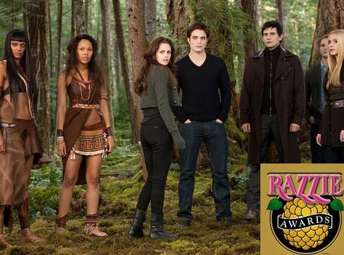 Twilight : le dernier volet de la saga nommé dans toutes les catégories des Razzie Awards !