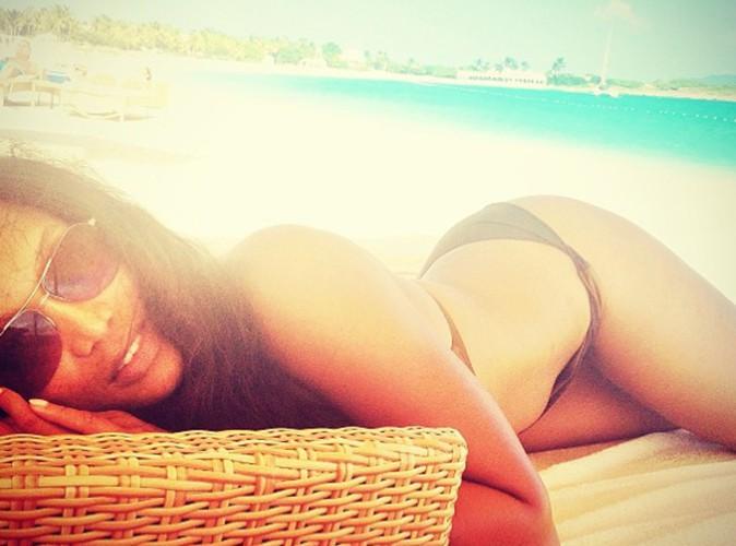 Tyra Banks : elle assume ses jolies formes généreuses sur les plages des Caraïbes  !