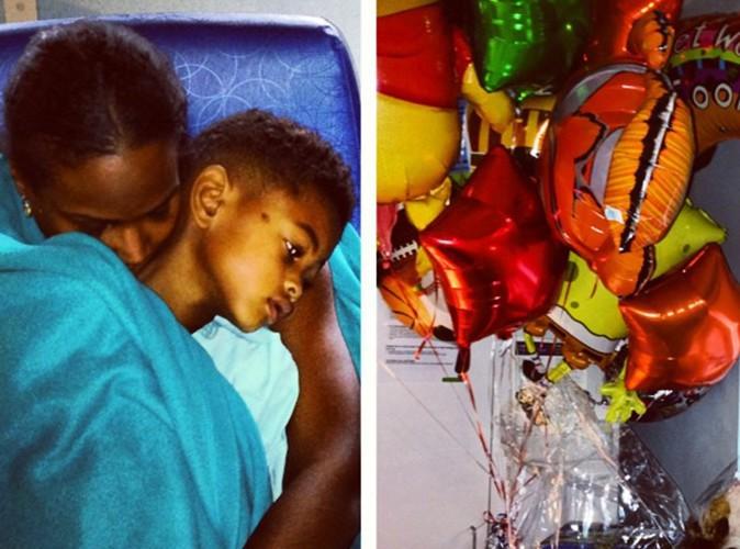 Usher : son ex-femme ne lâche plus son fils et tente de l'éloigner de son père !