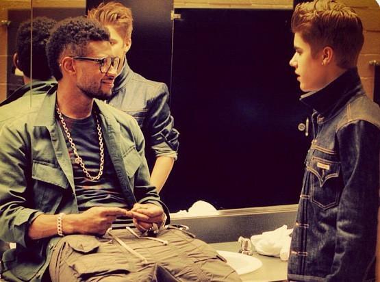 Usher : toujours aussi proche de Justin Bieber en coulisses !