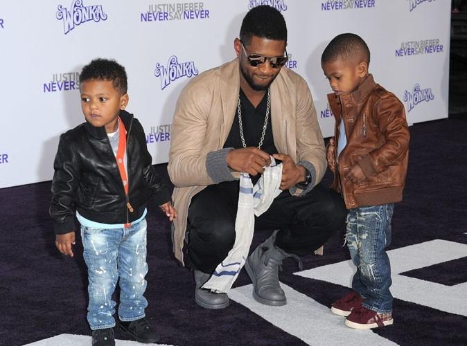 Usher : un papa trop chou qui fait sensation sur tapis rouge !