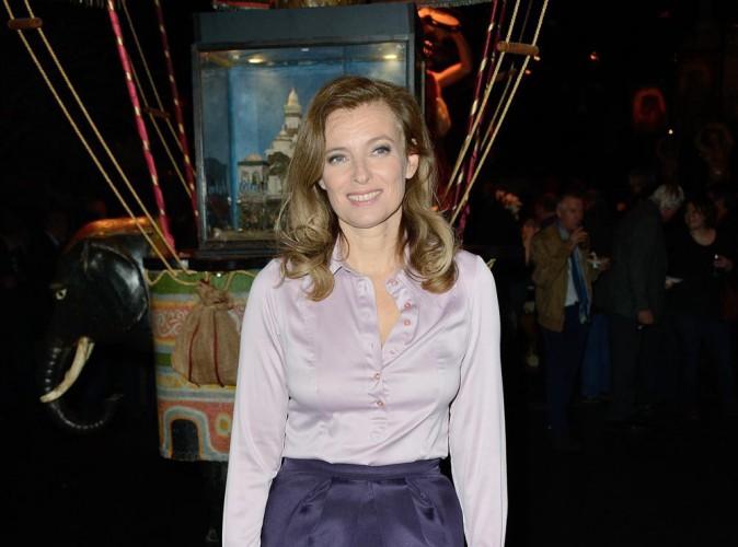 """Valérie Trierweiler : """"Je souhaite bonne chance à François Hollande !"""""""
