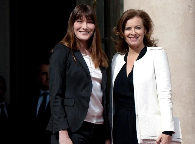 Valérie Trierweiler : l'actuelle Première Dame coûte moins cher que Carla Bruni à l'Etat !