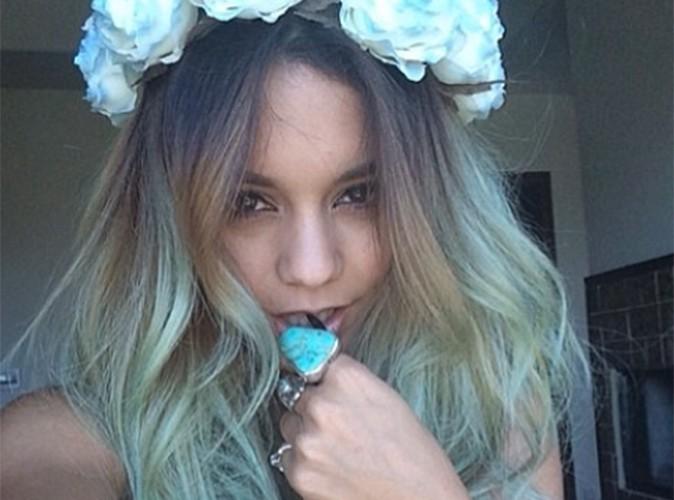 Vanessa Hudgens : elle vire au bleu !