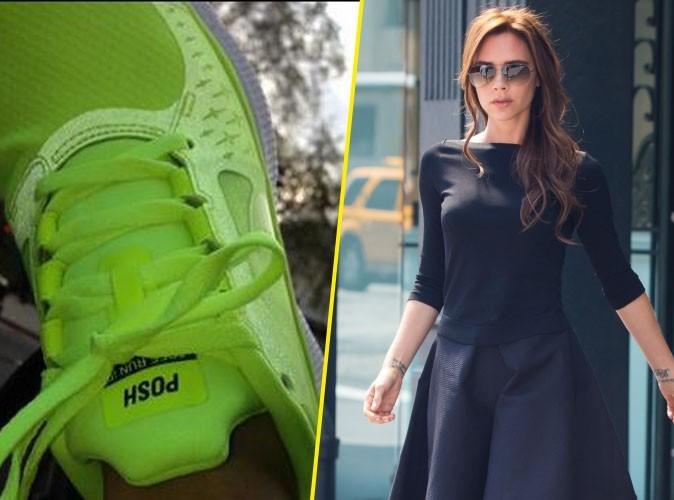 """Victoria Beckham : toujours aussi """"Posh"""", même quand elle troque des stilettos contre une paire de baskets !"""