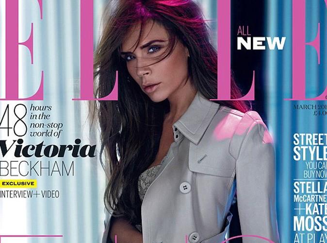 Victoria Beckham : une perfection (trop ?) irréelle en couverture du magazine ELLE…