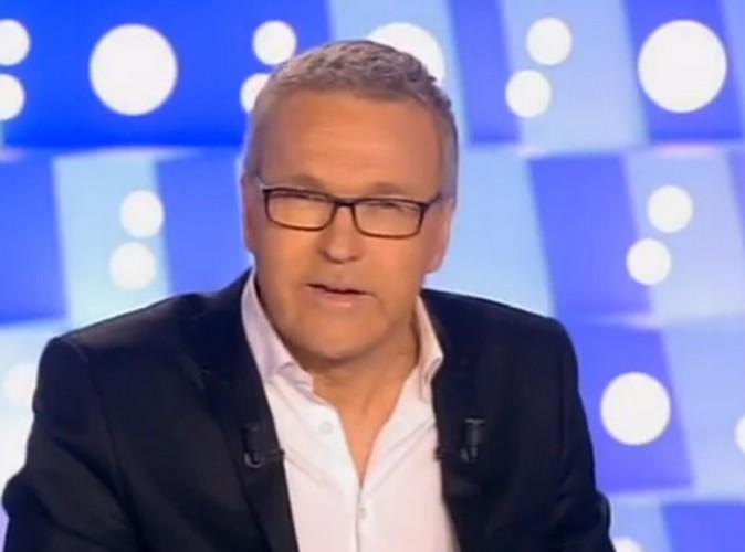 """Vidéo : après son clash avec Valérie Trierweiler, Laurent Ruquier comprend le """"calvaire de François Hollande"""" !"""