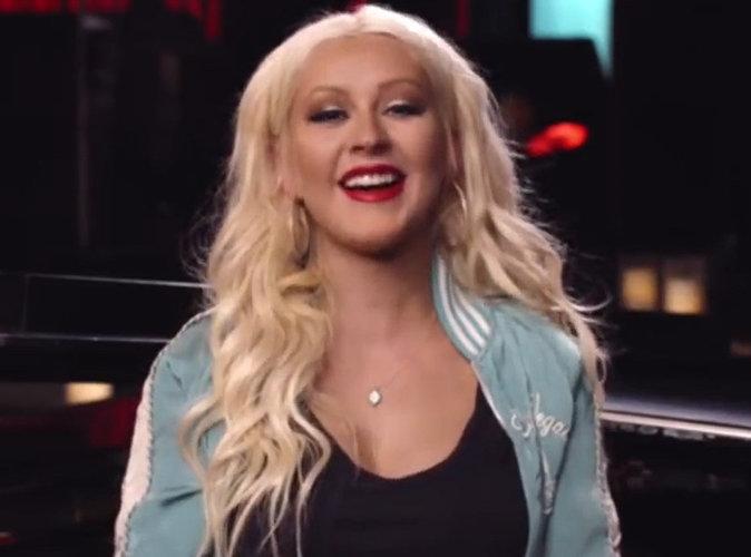 Christina Aguilera devient prof de chant sur le net !