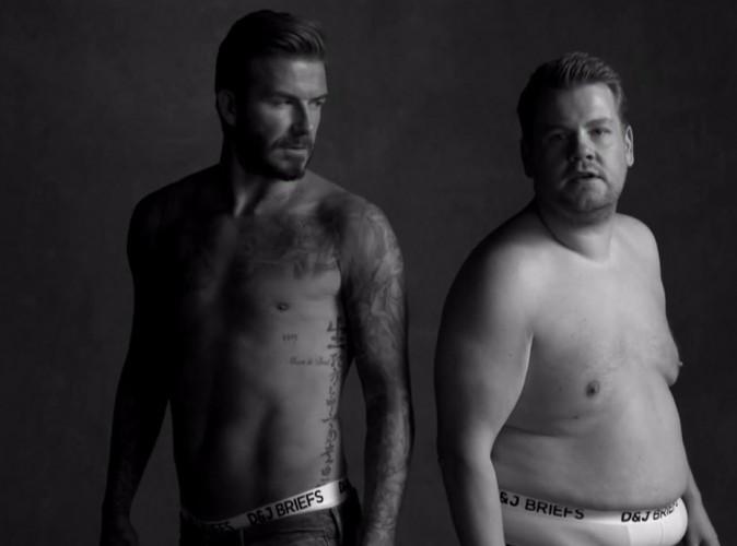 Vidéo : David Beckham, sexy et délirant il parodie sa propre pub H&M !