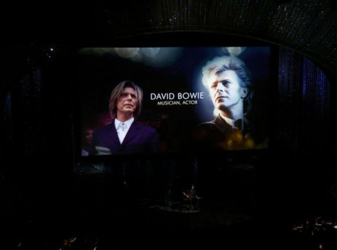 Vidéo : David Bowie, Alan Rickman, Omar Sharif…. l'hommage des Oscars 2016