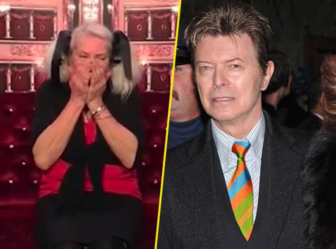 Video : David Bowie : son ex-femme fond en larmes en apprenant sa mort en direct à la TV