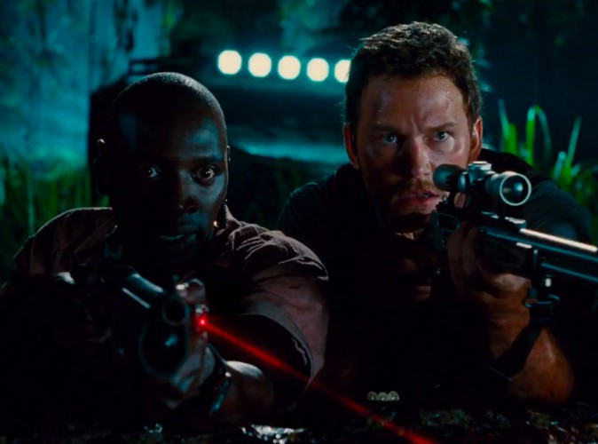"""Vidéo : découvrez Omar Sy dans la bande-annonce de """"Jurassic World"""" !"""