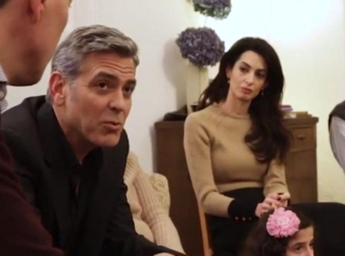 Vidéo : George et Amal Clooney : ils sont les réfugiés syriens d'hier !
