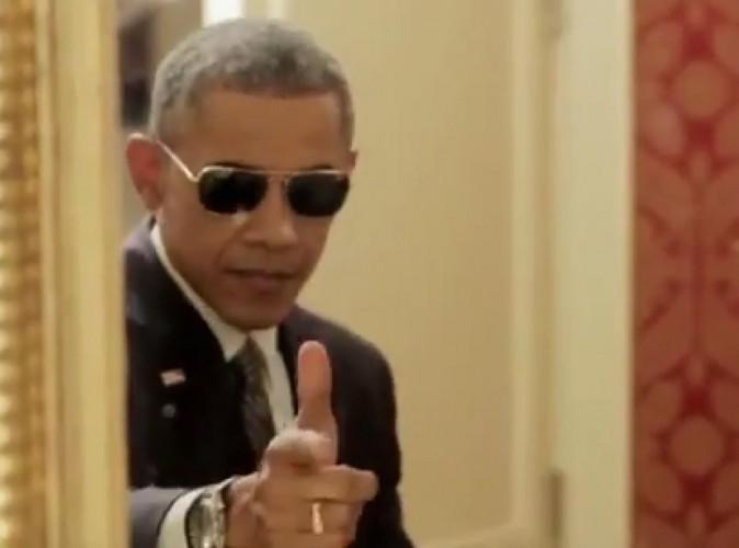 Vidéo : Improbable, Barack Obama se met en scène dans un sketch !