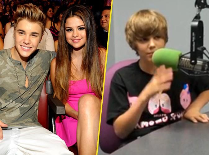 Vidéo : Justin Bieber : il craquait déjà pour Selena Gomez, bien avant de sortir avec elle !