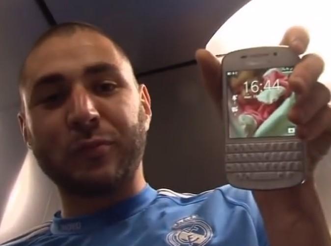 Vidéo : Karim Benzema : comme vous ne l'avez jamais vu... un papa complètement gaga de sa petite Mélia !