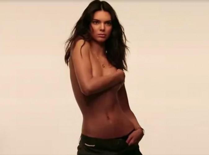 Vidéo : Kendall Jenner seins nus pour GQ : les coulisses d'un shooting hot !