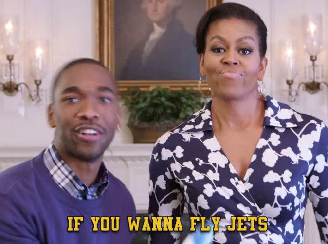 Vidéo : Le rap de Michelle Obama à la Maison-Blanche