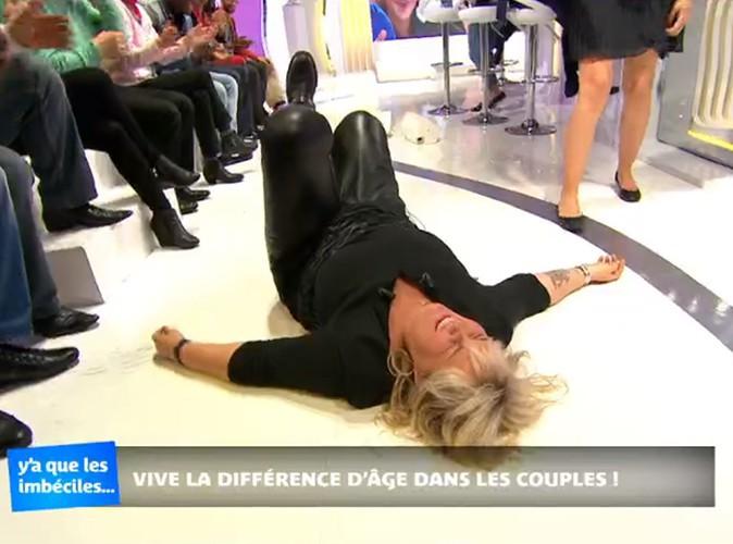 Vidéo : Valérie Damidot : l'animatrice se paye une jolie gamelle en plein talk-show !