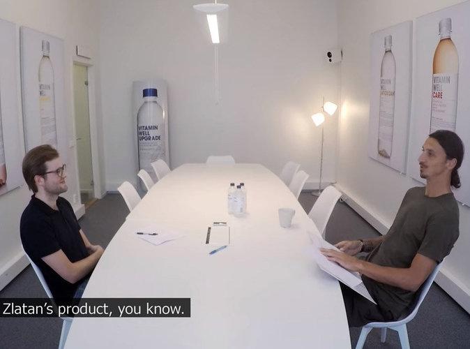 Vidéo : Zlatan Ibrahimovic fait passer des entretiens d'embauche !