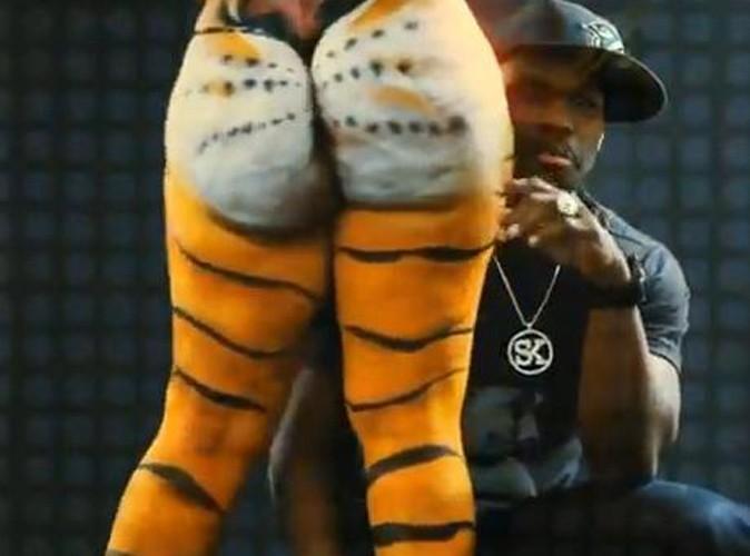 Vidéo : 50 Cent : un clip bien huilé ! Vive le body painting !