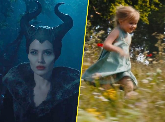 Vidéo : Angelina Jolie et sa fille Vivienne dans le premier trailer de Maleficent...