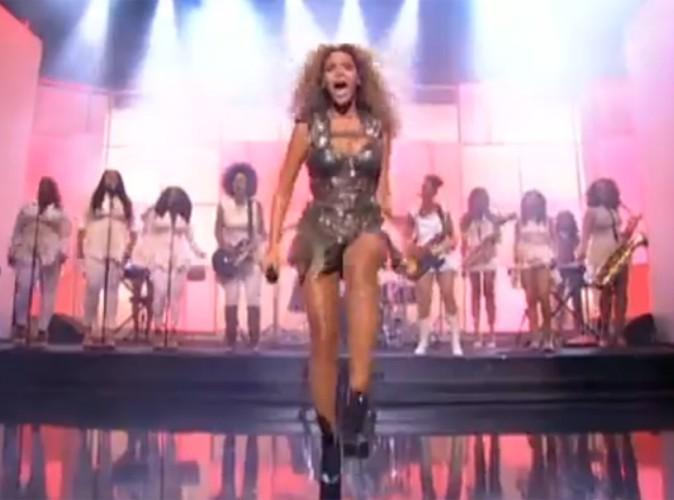 Vidéo : Beyoncé a mis le feu à la télé française ! Regardez !